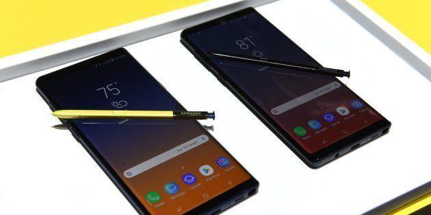 Le Galaxy Note 9 de Samsung présenté à New York le 9 août
