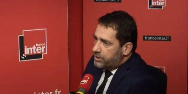 Castaner sur France Inter jeudi 1er