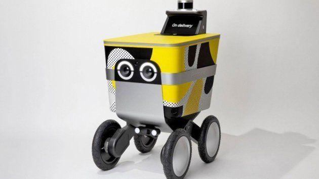 Le robot livreur Serve de