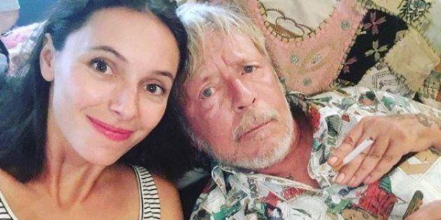 Lolita Séchan et son papa le chanteur