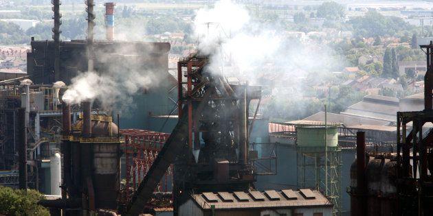 Les hauts-fourneaux de Florange, exploités par le groupe ArcelorMittal, en