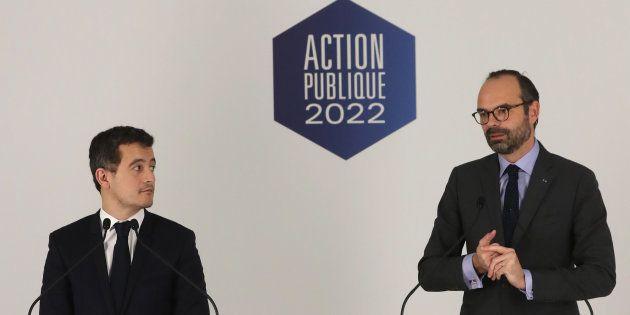 Gérald Darmanin et Édouard Philippe envisagent de développer des plans de départs volontaires dans la...
