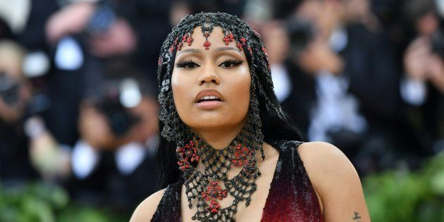 Nicki Minaj lors du gala du Met à New York le 7 mai
