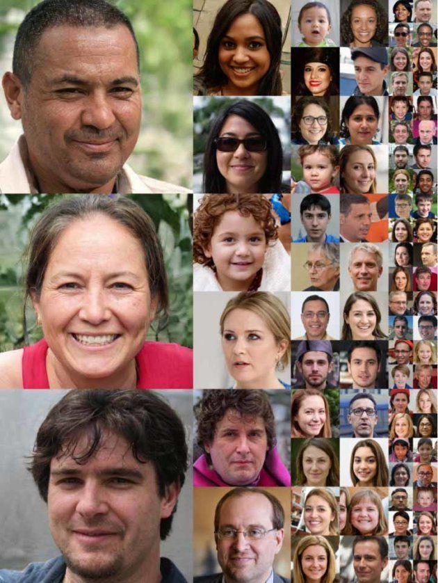 Ces visages ont été créés par une intelligence
