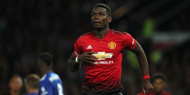 Manchester United-Leicester: Le champion du monde Paul Pogba n'a pas traîné pour la reprise de la Premier