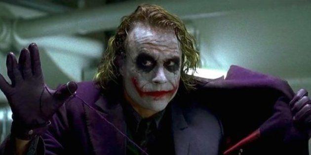 L'acteur australien Heath Ledger sous les traits du Joker