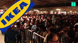L'ouverture du premier Ikea en Inde provoque un bouchon monstre et des