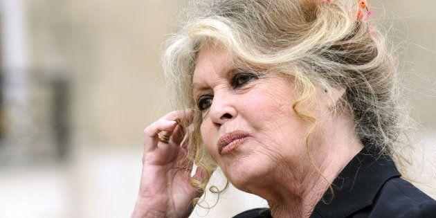 Brigitte Bardot à l'Elysée le 27 septembre