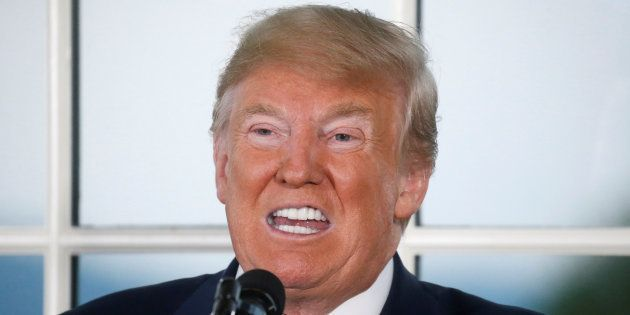 Donald Trump à Bedminster dans le New Jersey le 7 août