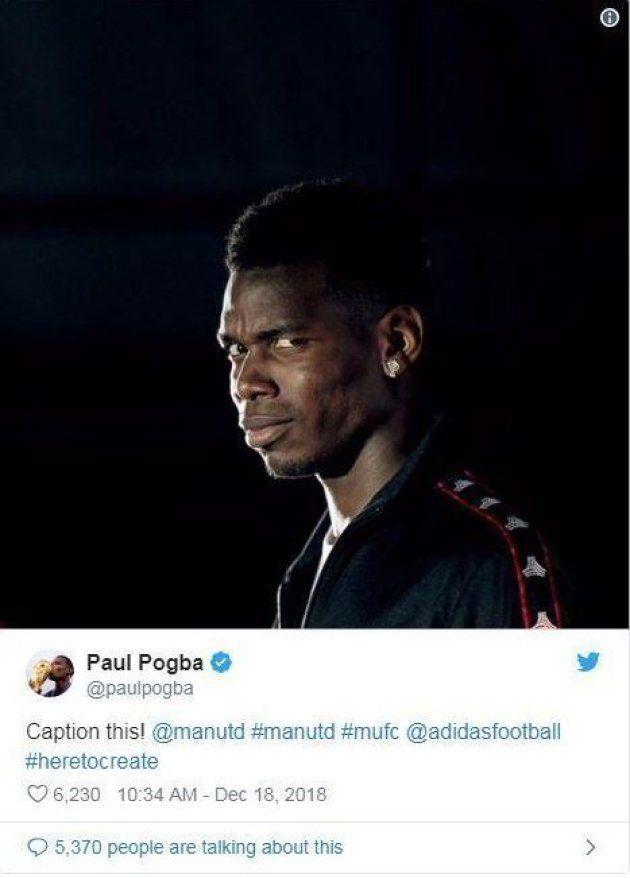 Pogba a vite effacé ce tweet qui tombait juste après le renvoi de
