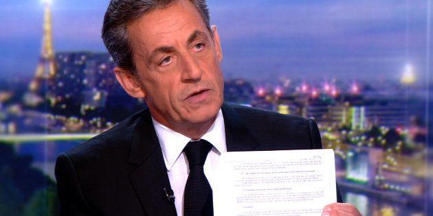 En mars 2018 sur le plateau de TF1, Nicolas Sarkozy avait estimé que le document de Mediapart