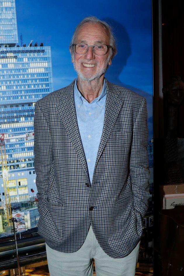 Renzo Piano à Paris le 6 décembre
