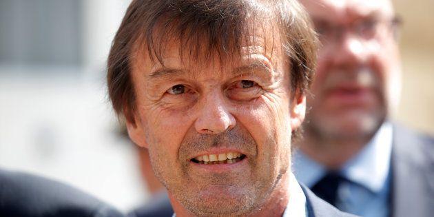 Nicolas Hulot à Paris le 4 juillet