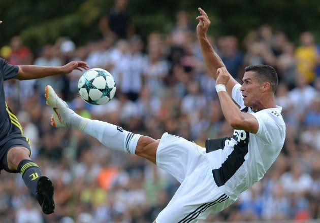 Juventus: Cristiano Ronaldo n'a pas traîné pour marquer sous ses nouvelles