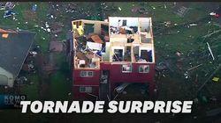 Une tornade arrache les toits dans la banlieue de