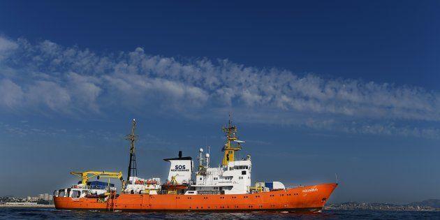 L'Aquarius de nouveau à la recherche d'un port pour débarquer ses 141
