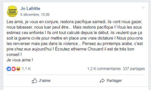 Les messages relayant la parole d'Étienne Chouard se