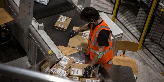 Un employé italien d'Amazon à la veille du