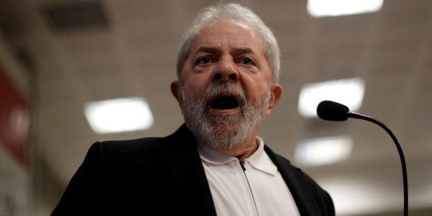 Luiz Inacio Lula da Silva à Brasilia, le 9