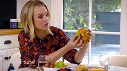 L'allaitement expliqué par Kristen Bell avec un croissant et un
