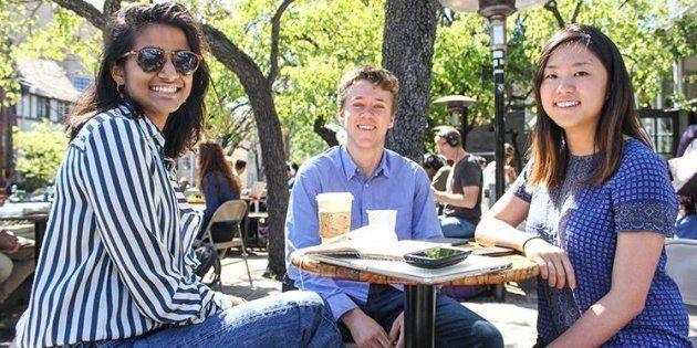 Présents à Nice lors de l'attentat, Anjali Banerjee, Tyler Heintz et Alice Ma ont créé une startup pour...