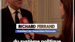 Ferrand ne s'excuse pas après ses propos sur les référendums