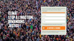 La pétition contre l'inaction de l'Etat sur le climat dépasse le million en moins de