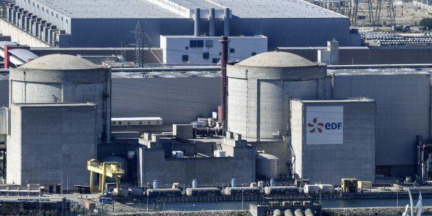 Une partie de la centrale nucléaire de Tricastin, située dans le Vaucluse et dans la