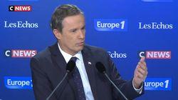 Nicolas Dupont-Aignan aide les migrants