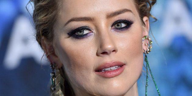 Amber Heard, actuellement à l'affiche du