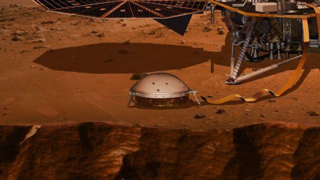 Sonde Insight sur Mars: Seis, le sismomètre français, déployé avec