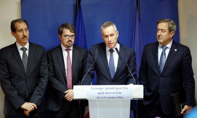 Moulay El Hassan Daki, procureur général de la cour d'appel de Rabat, Frédéric Van Leeuw, procureur fédéral...