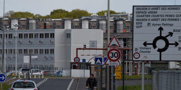 La prison de Fleury-Mérogis, au sud de Paris, où Salah Abdeslam, seul membre encore en vie des commandos...