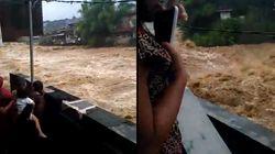 Pendant que Paris se remet de la crue, l'Indonésie connaît des inondations