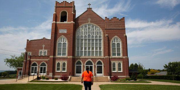 Une église à Mohrsville en Pennsylvanie, où une enquête a révélé les abus sexuels de