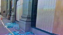Les images des dégâts à Philadelphie, après la victoire des Eagles lors du Super