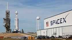 SpaceX va lancer sa Falcon Heavy,