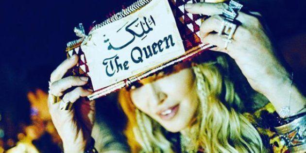 Madonna est à Marrakech et rappelle à tout le monde qui elle