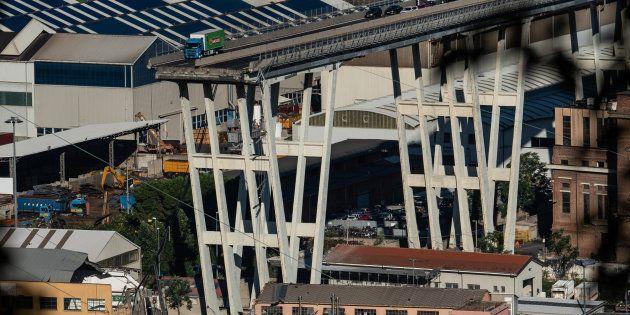 Le Pont Morandi de Gênes s'est effondré mardi 14 août, faisant plus d'une trentaine de