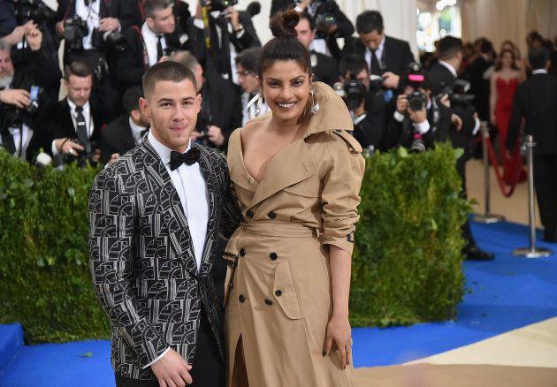 Priyanka Chopra et Nick Jonas au Met Gala de