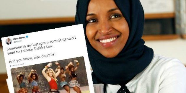 Ilhan Omar (ici le 7 novembre), élue musulmane américaine, s'est vue accusée de vouloir imposer