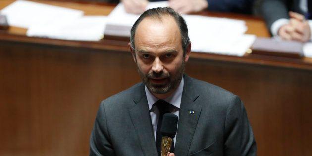 Edouard Philippe à l'Assemblée nationale le 4