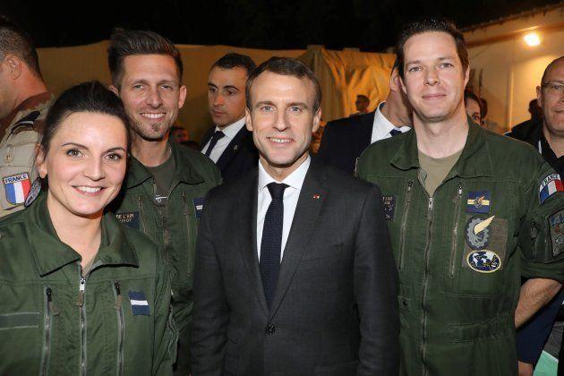 Tchad: Macron célèbre Noël avec les