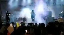 Un groupe de pop décimé en plein concert par le tsunami en