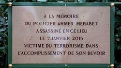 Plaque d'Ahmed Merabet: la Mairie de Paris indique qu'elle n'a pas été volée mais une enquête avait bien été