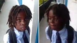 Ce petit garçon n'a pas pu assister à son premier jour d'école à cause de ses