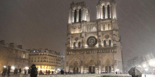 La neige en Île-de-France, une sacrée pagaille mais aussi de belles