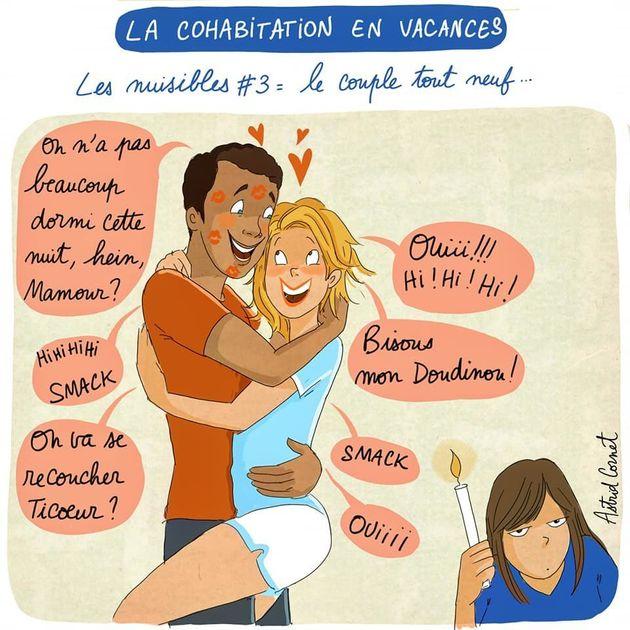 L'illustratrice Astrid Cornet dessine les personnes agaçantes en vacances et ça va forcément vous