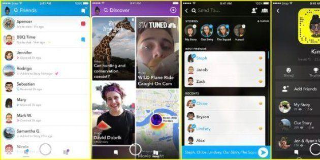 Mécontents de la dernière mise à jour Snapchat, les utilisateurs ont tenu à le faire savoir sur