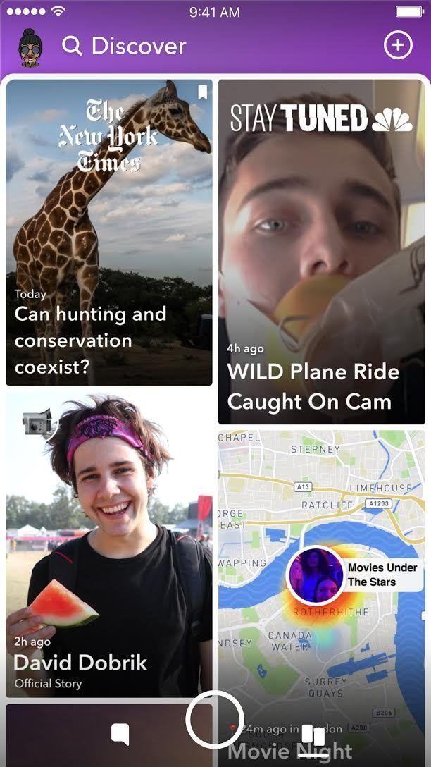 La dernière mise à jour de Snapchat débarque sur les écrans et fâche les
